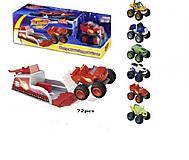 Детская машинка - запускалка серии «Вспыш», LQ555, купить