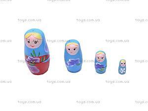 Детская матрешка, деревянная, E03044, игрушки