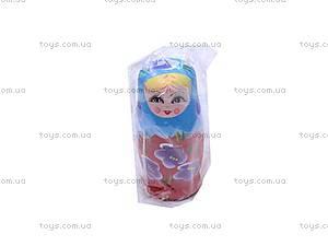 Детская матрешка, деревянная, E03044, детские игрушки