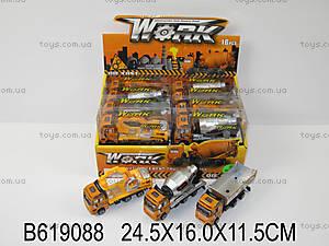 Детская металлическая машинка «Стройка», 9105619088, купить