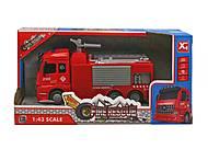 """Детская металлопластиковая машинка """"Пожарная"""", XG877-A61C, отзывы"""