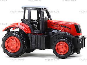 Детская металлическая машина «Трактор», 77031, фото