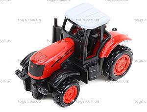 Детская металлическая машина «Трактор», 77031, отзывы