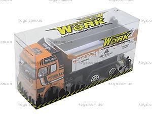 Детская металлическая машинка «Стройка», 9105619088, игрушки
