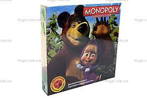 Детская монополия «Маша и Медведь», 6156, купить