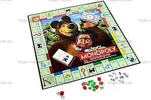 Детская монополия «Маша и Медведь», 6156