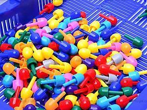 Детская мозаика, 120 фишек, 2702, игрушки