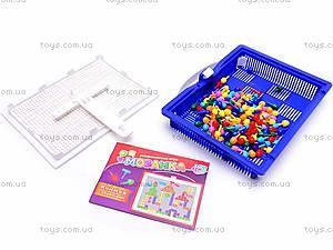 Детская мозаика, 120 фишек, 2702, детские игрушки