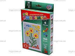 Детская мозаика, 150 фишек, 2711, детские игрушки
