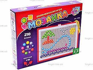 Детская мозаика, 210 фишек, 2706, игрушки