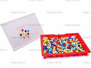 Детская мозаика, 210 фишек, 2706, детские игрушки