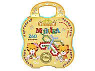 Детская мозаика, 260 элементов, 39113, купить