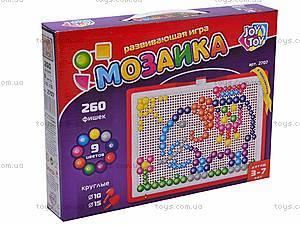 Детская мозаика, 260 фишек, 2707, игрушки