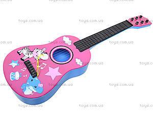 Детская музыкальная гитара в чехле, B-74D, цена