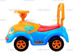 Детская музыкальная каталка «Луноходик», 119РУ174музруль, детские игрушки