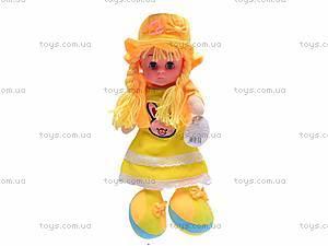 Детская музыкальная кукла, мягкая, 261014A