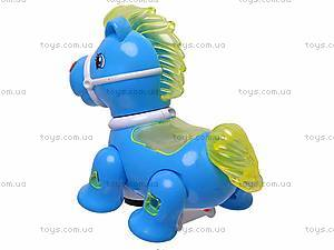 Детская музыкальная лошадка, 2130A, купить
