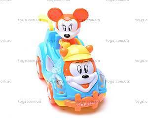 Детская музыкальная машинка «Микки Маус», 1321-3, фото