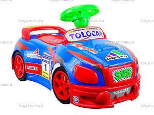 Детская музыкальная машинка-каталка «Толокар», 11-001_муз, фото