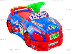 Детская музыкальная машинка-каталка «Толокар», 11-001_муз, детские игрушки