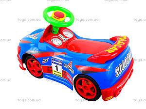 Детская музыкальная машинка-каталка «Толокар», 11-001_муз, toys.com.ua