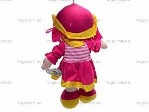 Детская музыкальная мягкая кукла, 84A14(ABC), купить