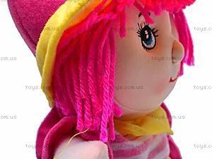 Детская музыкальная мягкая кукла, 84A14(ABC), игрушки