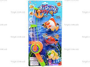 Детская музыкальная рыбалка, 3 рыбки, 2155A