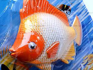 Детская музыкальная рыбалка, 3 рыбки, 2155A, фото