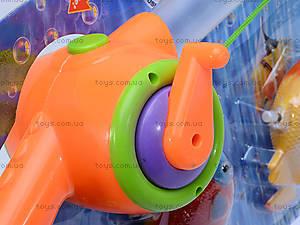 Детская музыкальная рыбалка, 3 рыбки, 2155A, игрушки