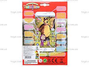 Детская музыкальная игрушка «Мобильный телефон», JD-102B, фото