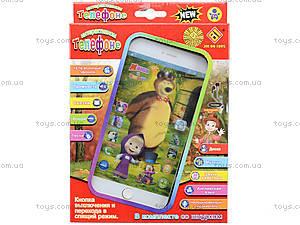 Детская музыкальная игрушка «Мобильный телефон», JD-102B, детские игрушки