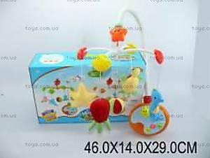Детская музыкальная игрушка на кроватку «Карусель», 6538BC