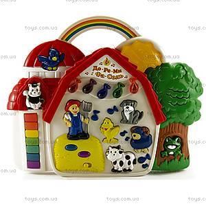 Детская музыкальная игрушка «Теремок», I66FY, цена