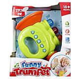 Детская музыкальная игрушка «Труба», А 654, отзывы