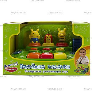 Детская музыкальная игрушка «Веселая полянка», TC62FY