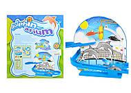 Детская музыкальная игрушка «Веселые дельфины», WD1015, игрушка