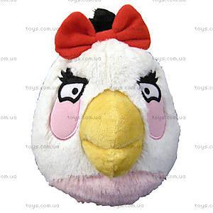 Детская мягкая игрушка Angry Birds «Птичка Белая», 92051