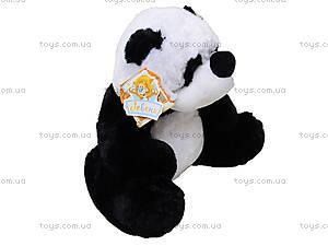 Детская мягкая игрушка «Панда», сидячая маленькая, К335С, купить