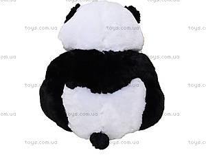 Детская мягкая игрушка «Панда», сидячая маленькая, К335С, фото