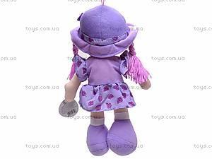 Детская мягкая кукла в шляпе, R1214(ABC), игрушки
