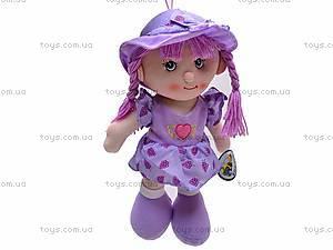 Детская мягкая кукла в шляпе, R1214(ABC)