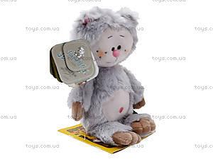 Детская мягкая игрушка «Кот-почемучка», К351АС, купить