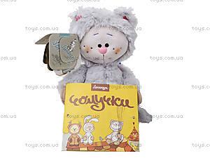 Детская мягкая игрушка «Кот-почемучка», К351АС, отзывы