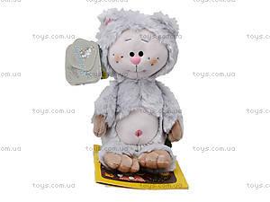 Детская мягкая игрушка «Кот-почемучка», К351АС, цена