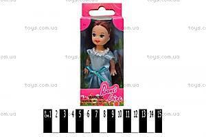 Детская мини-куколка для девочек, 6028