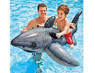 Детская надувная игрушка для плавания «Акула», 525, игрушки