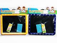 """Детская настольная """"Доска для рисования мелом"""" (2 цвета), YH-201A, отзывы"""
