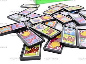 Детская настольная игра «Домино», 00009, игрушки