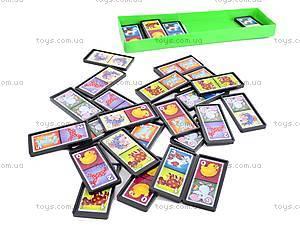 Детская настольная игра «Домино», 00009, детские игрушки